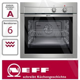 Neff Einbau Backofen Backherd Edelstahl mit CircoTherm