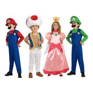 Super Mario Bros. Kinderkostüme Nintendo Installateur Party Outfit