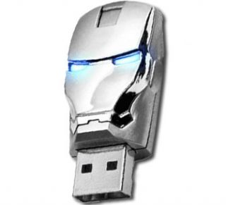 Avengers Iron Man 2 silber 8GB USB Stick 2.0