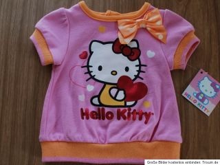 Neu~USA~HELLO KITTY~50 56~T Shirt+Hose~2 tlg ~Sommer~Mädchen~Set