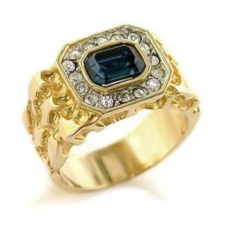 Isady – Empire Or – Herren Ring – 585er 14K Gold platiert