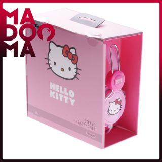 COLOUD Hello Kitty Pink Label Rosa Kopfhörer NEU