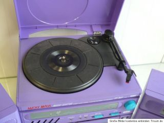 Micky Maus Musik Center Stereoanlage Plattenspieler Musikanlage Radio