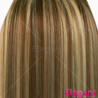 FULL HEAD Clip In Hair Extensions 15 18 20 22 24 Straight ANY