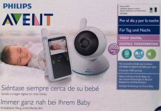philips avent dect baby monitor with temperature and. Black Bedroom Furniture Sets. Home Design Ideas