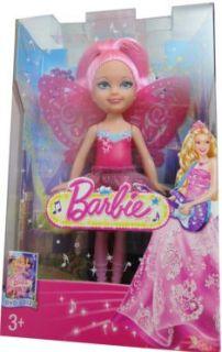 Barbie Die Prinzessin und der Popstar   Diamant Fee rosa Mattel X7916
