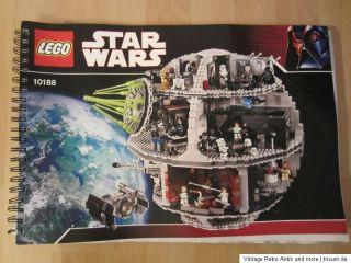 LEGO BAUANLEITUNG 10188 Star Wars Todesstern   Death Star
