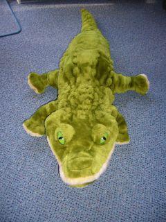 Stofftier Krokodil 1m lang Uni Toys Kuscheltier weich unbespielt wie