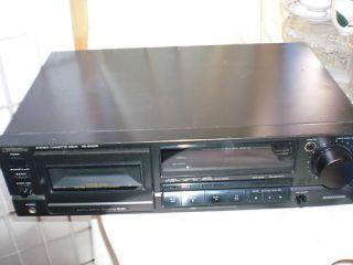 TECHNICS Stereo Cassette Deck RS BX626 Rarität*138