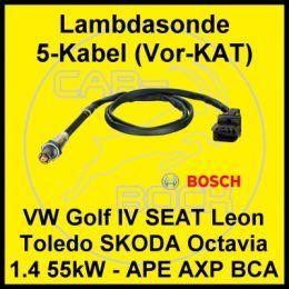 Lambdasonde Vor KA VW Golf 4 1.4 16V 55kW APE AXP BCA