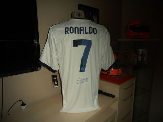 Real Madrid Trikot RONALDO Original Handsigniert NEU TOP