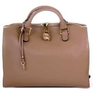 ROUVEN Taupe AURA BOSTON ICONE Tote Bag Tasche Damen Handtasche UVP699