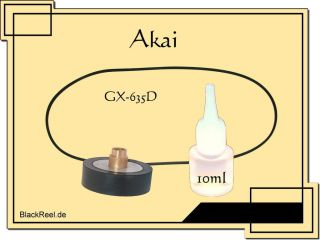 Akai GX 635 D GX635D Service Kit 1 Bandmaschine Reel to Reel Tape