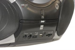 Boombox mit DVD DVB T 7 Zoll Display CD MP3 Player Radio USB SD Card