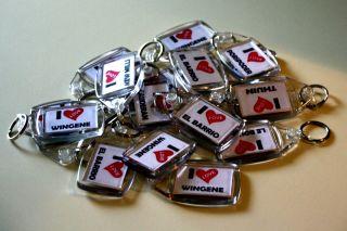 BR I Love VIDEIRA  1 KeyRing + 1 Fridge Magnet