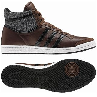 Adidas Originals Top Ten Hi Sleek Series Braun Schuhe Sneaker