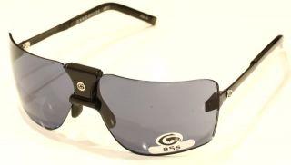 Gargoyles Sunglasses Classic 85s Black w/ Black Ice NEW