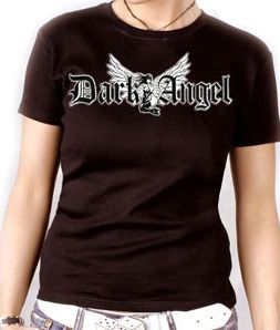 Girly T Shirt Ed Gothic Punk Emo 666 Dark Angel S XXL