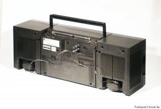 TOSHIBA RT 7016 STEREO RADIORECORDER RADIO GHETTOBLASTER BOOMBOX