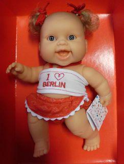 Paola Reina   159 Vinyl Girl Doll 22cm Baby Puppe Neu OVP