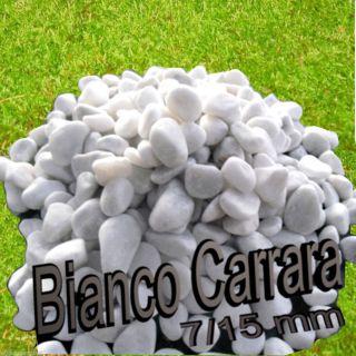 Bianco Carrara Marmor Zierkies Natursteine 5 kg zur Grab Dekoration