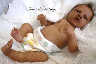 Ihr Wunschbaby Reborn Newborn Baby Elodie Ethnic sculpt by Evelina