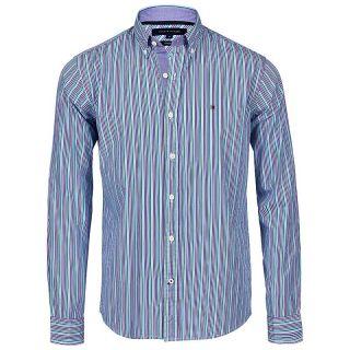 Tommy Hilfiger TH Herren Hemd Shirt MAX 0887811055 blau S , M , L , XL
