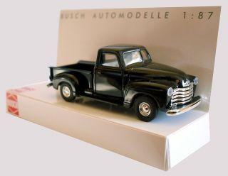 BUSCH 48200 Chevrolet Pick up (1950) schwarz 187
