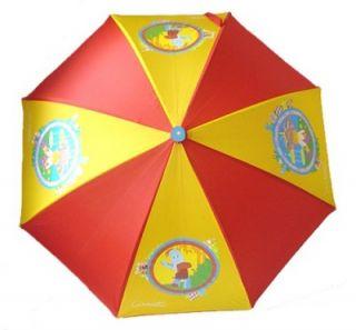 KIDS CHILDRENS CHILD CHARACTER RAIN UMBRELLA BROLLY NEW