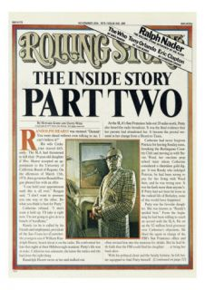 The Patty Hearst Story, Part Two, Rolling Stone no. 200, November 1975 Photographic Print by Tony Lane