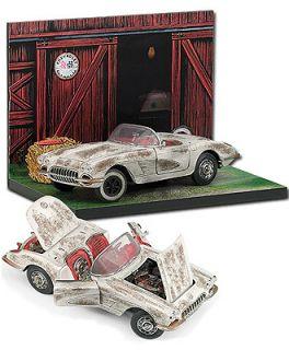 Franklin Mint   1959 Corvette Diorama    B11F679 NEU