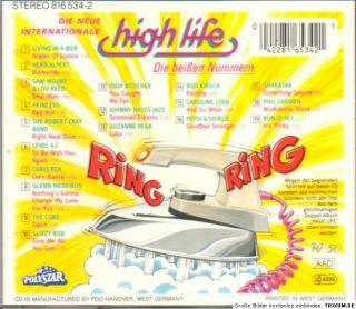 HIGH LIFE    DIE HEISSEN NUMMERN    CD   m. LEVEL 42 + HERB ALPERT