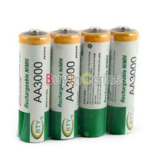 BTY Ni MH AA 3000mAh 1.2V Rechargeable Battery #2