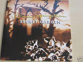 BRUCE SPRINGSTEEN SECRET GARDEN PROMO SINGLE CD E683