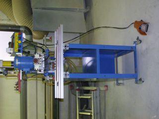 Bohr und Einpressautomat Hettich Blue Max 8 fahrbar