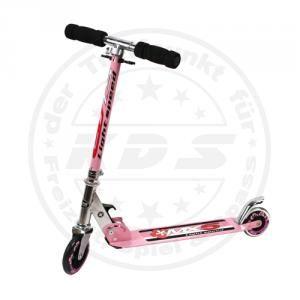 Kinder Roller Scooter Rosa Pink Cityroller Tretroller extra lang