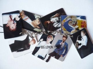 Lee Teuk In SUPER JUNIOR Mobile /Cell Phone Strap Keychain Keyring N8