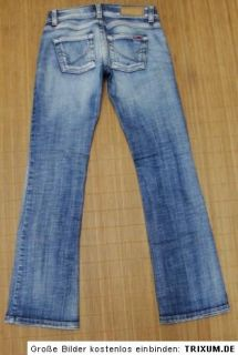 ONLY Sammy Stretch Jeans, Bootcut, Gr. W27/L32   distressed!