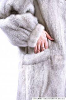 NERZJACKE graue saphirnerz MINK fur jacket Nerz nerzmantel Pelzjacke