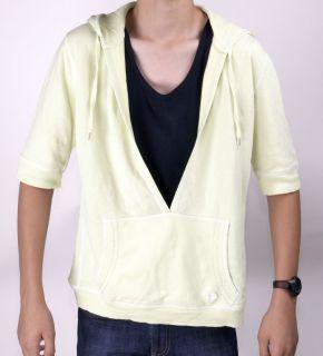 JETTE JOOP Shirt mit Kapuze und V Ausschnitt Hellgrün GR 44 #X710