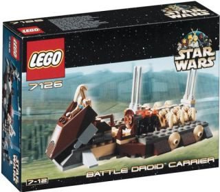 Lego Star Wars Battle Droid Carrier (712