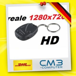8GB #11 reale HD 1280x720 Pixel Autoschüssel Kamera Spy cam car Key