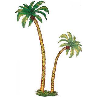 DEKO PALMEN # Karneval Fasching Hawaii Südsee Karibik Party Kostüm