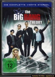 DVD Box THE BIG BANG THEORY komplette Staffel 4 / Season 4 deutsch