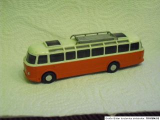 ESPEWE DDR Skoda BUS Reisebus S 706 RTO Lux Farbe rot RAR