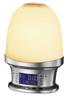 Melissa 631 145 Wake Up Lamp Sunrise Wecker Lampe Licht Uhr Radio LCD