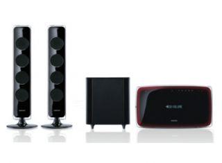 Samsung HT X729 2.1 Kanal Heimkinosystem mit DVD Player Home Cinema B