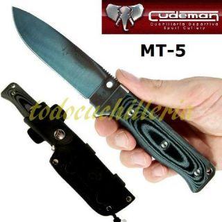 CUCHILLO CUDEMAN MT5 MICARTA CAZA MESSER COUTEAU KNIFE MESSER COLTELLO
