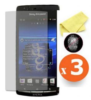 Matt Display folie Schutzfolie ANTI FINGERPRINT für Sony Ericsson