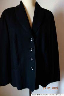 GERRY WEBER BLAZER Jacke schwarz reine Wolle Gr.46   NEUWERTIG